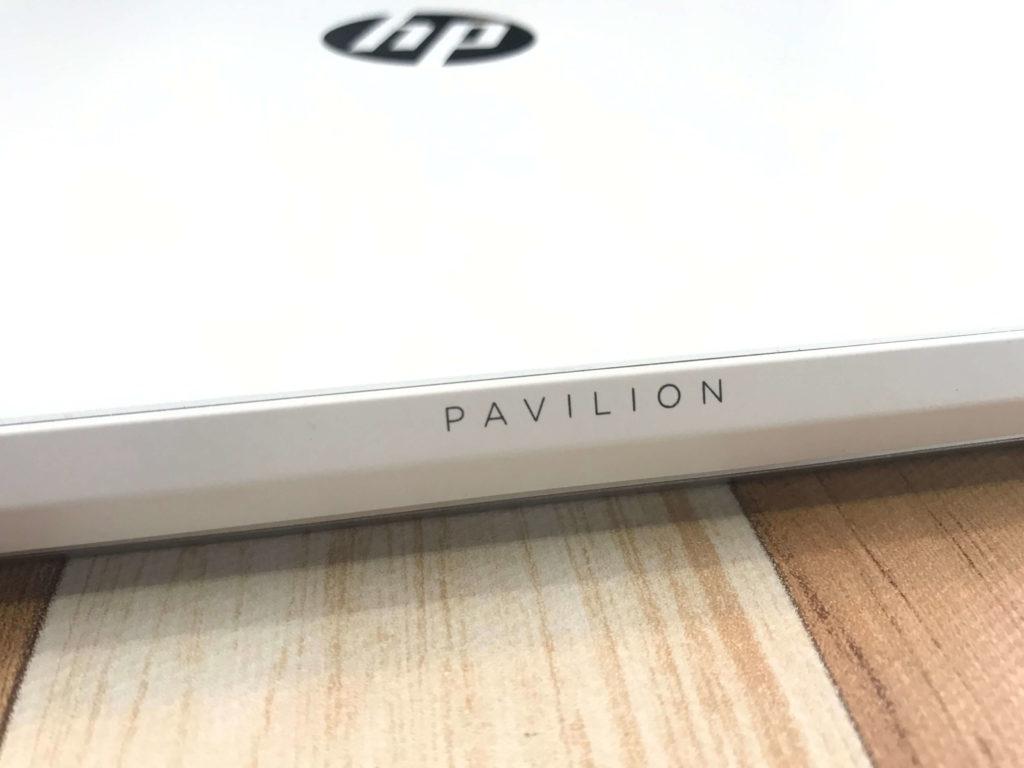 HP Pavilion 15-cs3000_PAVILION刻印