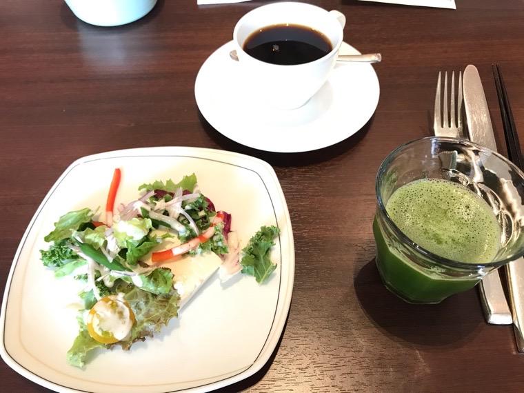 仙台ロイヤルパークホテル_オールデイダイニング「シェフズテラス」_朝食セットメニュー_コーヒーお代わり自由