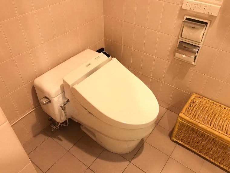 仙台ロイヤルパークホテル客室「ラグジュアリーツイン」ガーデンサイド_バスルーム_トイレ