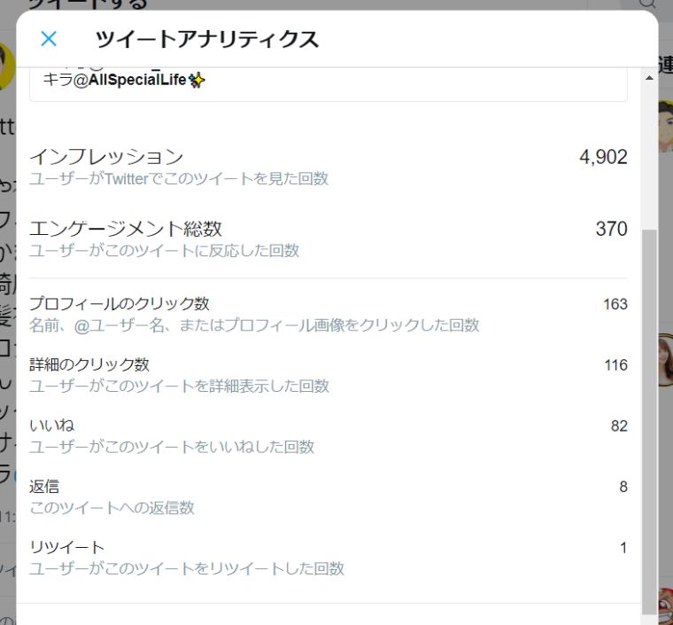SocialDogの機能・使い方_ダッシュボード_最近の人気ツイート_いいねトップ3_ツイート表示_ツイートアナリティクス_詳細