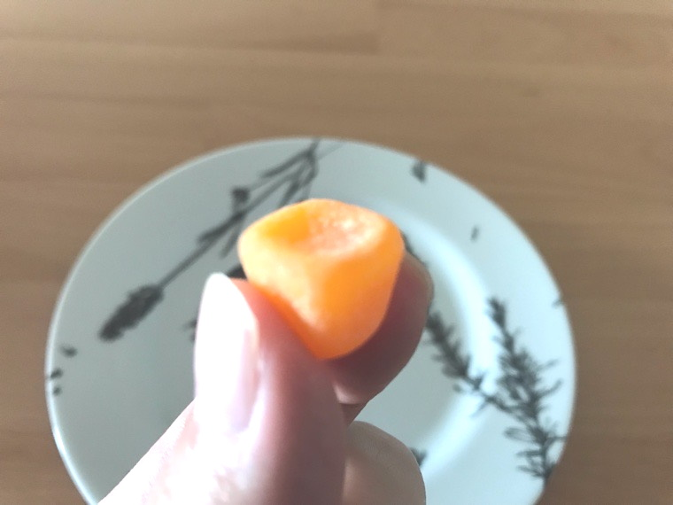 COMP Gummy TB v.3.0(コンプグミ)_味わい・腹持ち_一粒の大きさ