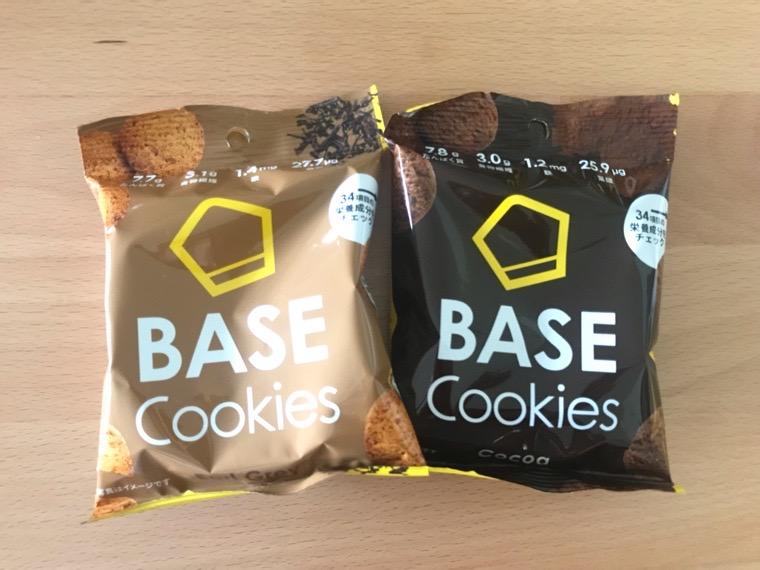 完全食BASE BREAD(ベースクッキー)_アールグレイとココア