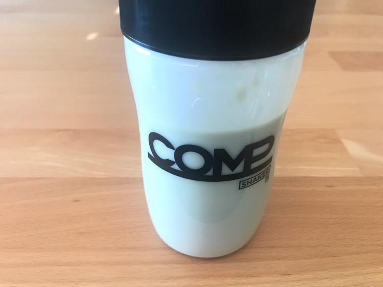 COMP Flavor(コンプフレーバー)_作り方・味わい_TB+抹茶風味_シェイク完了