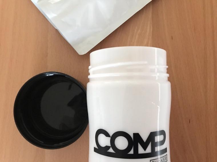 COMP Powder TB v.5.1(コンプ)_初回のセット_COMP Powder TB v.5.1初回限定のシェーカー蓋ねじ込み式