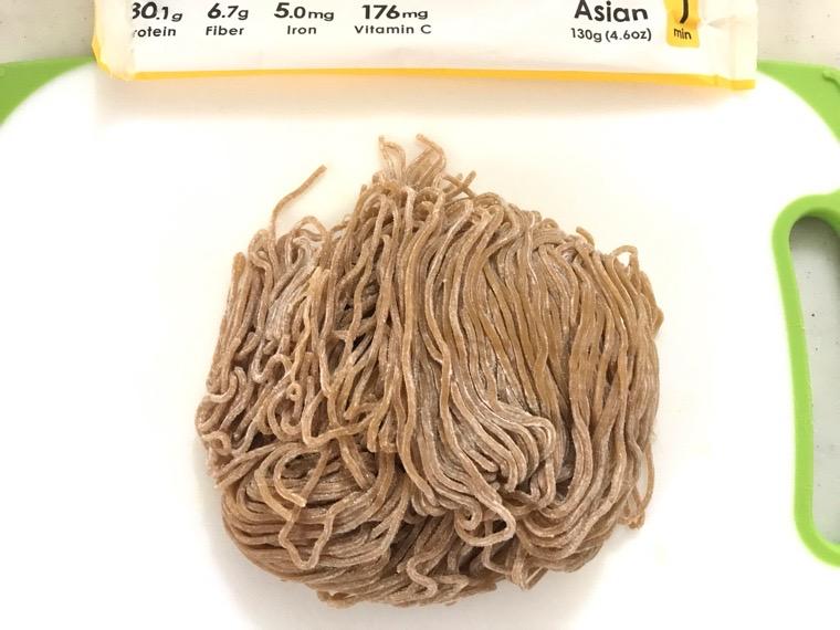 完全食BASE PASTA(ベースパスタ)_種類_アジアン_麺の外観