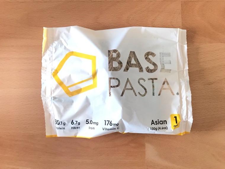 完全食BASE PASTA(ベースパスタ)_種類_アジアン_包装