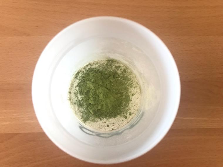 COMP Flavor(コンプフレーバー)_作り方・味わい_TB+抹茶風味_抹茶風味投入