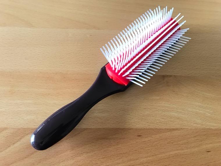 スカルプDメディカルミノキ5:塗布後の髪型_ヘアブラシ調査_ベストのヘアブラシ