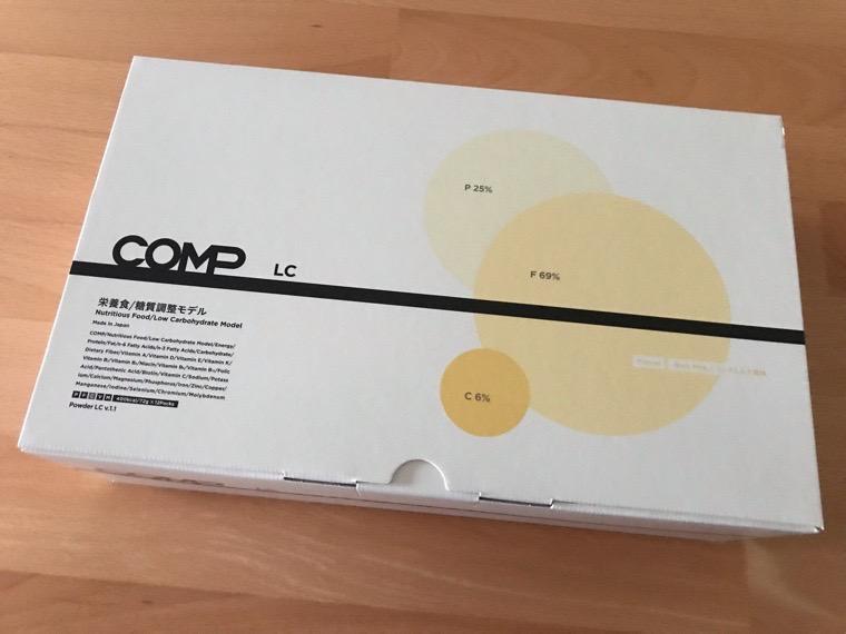 COMP Powder LC v.1.1(コンプ)_初回のセット_COMP Powder LC v.1.1の箱外観
