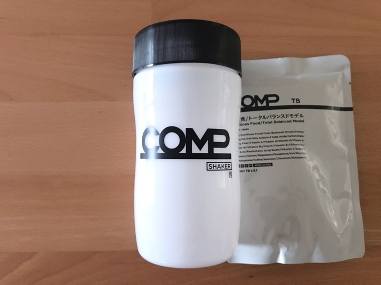 COMP Powder TB v.5.1(コンプ)_初回のセット_COMP Powder TB v.5.1の初回限定シェーカー