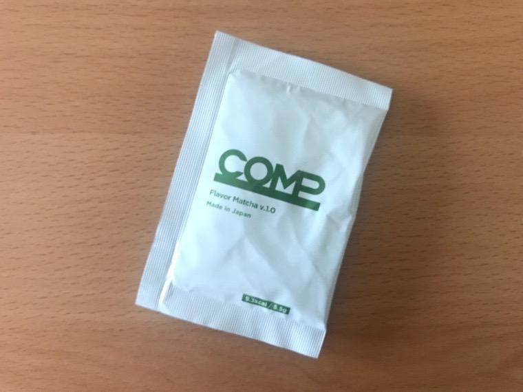 COMP Flavor(コンプフレーバー)_4つの風味_抹茶風味1袋